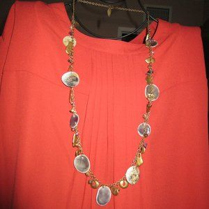 Coldwater Creek Shell Necklace, Long